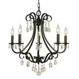 Mallie 5-Light Candle Style Chandelier