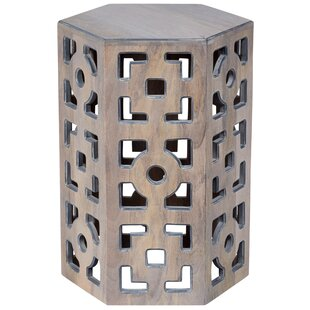 World Menagerie Briela Geometric End Table
