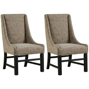 Charlton Home Sheree Upholstered Dining Chair (Set of 2)