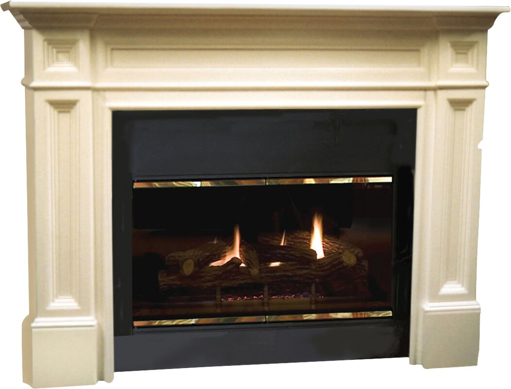 products package fireplace packages sicilian accessories in mantel electric ivory