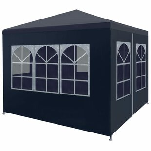Bourdeau 3m X 3m Steel Party Tent By Sol 72 Outdoor