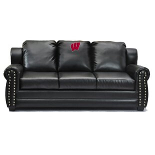 NCAA Coach Leather Sofa