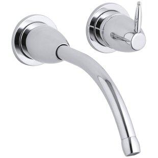 Kohler Falling Water Wall-Mount Bathroom Sink Faucet Trim with 8-1/4