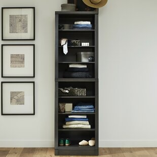Reviews Calderdale 25 W Closet Wall Open Storage Unit ByGracie Oaks