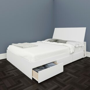 Bowlin Platform Bed With Storage by Isabelle & Max Great price
