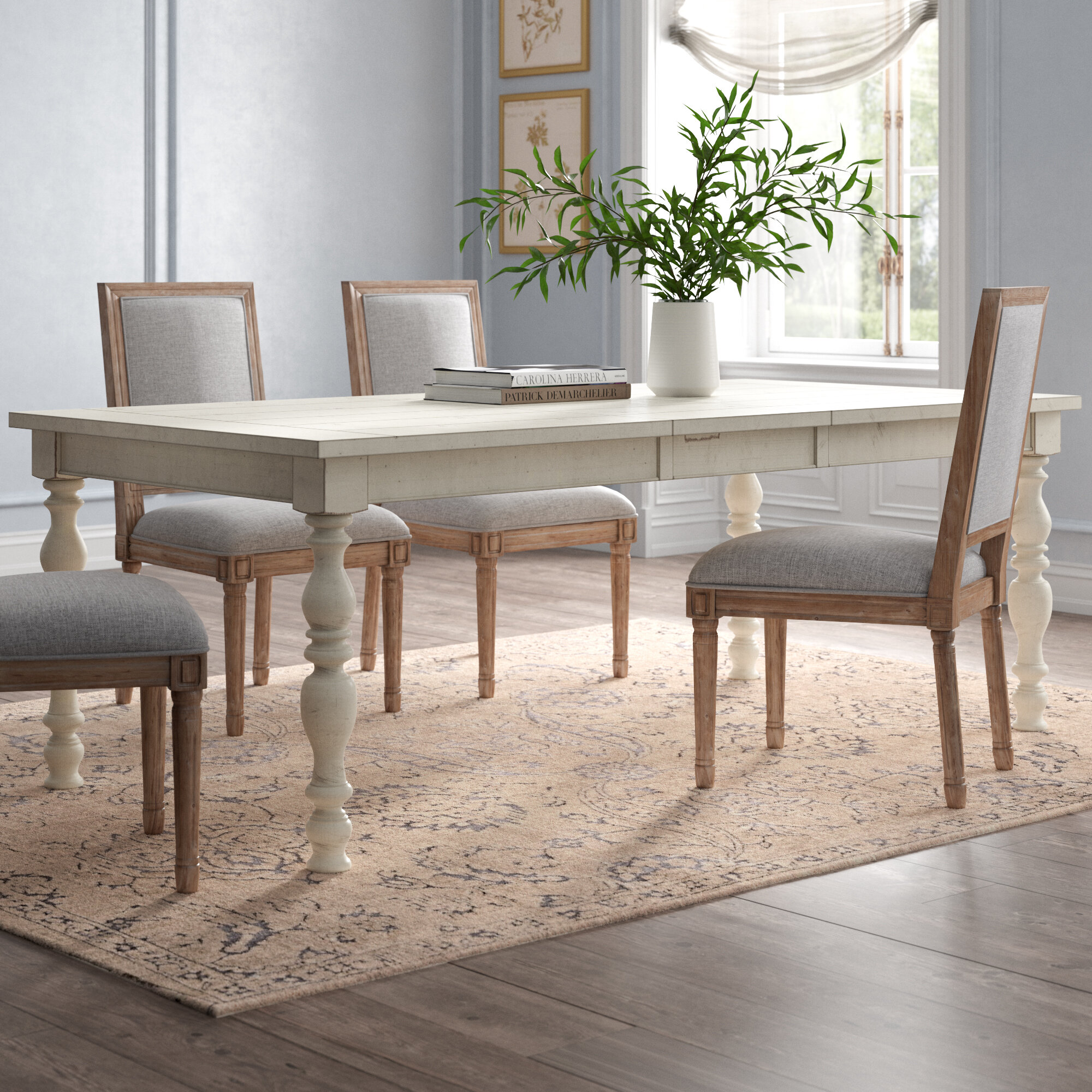 White Kelly Clarkson Home Kitchen Dining Tables You Ll Love In 2021 Wayfair