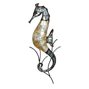 Metal Seahorse Wall Décor