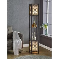 Deals on Fleur De Lis Living Telfair 64-inch Column Floor Lamp
