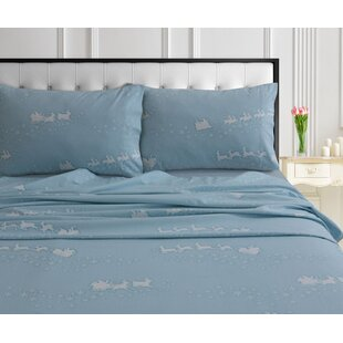 Roberson Soft and Warm Flannel Sheet Set ByThe Holiday Aisle
