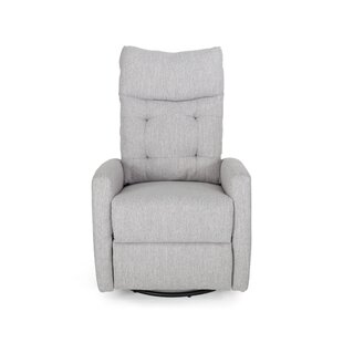 Goodrow Contemporary Manual Swivel Glider Recliner by Latitude Run