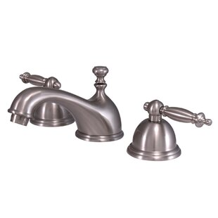 Kingston Brass Templeton Widespread Bathroom Faucet with Brass Pop-Up Drain