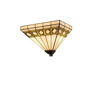 Diamond Mission 2-Light Wall Sconce
