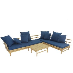 Sione 3 Piece Sectional Set with Cushions