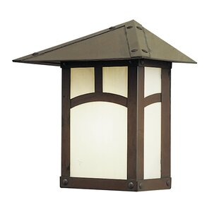 Evergreen 1-Light Outdoor Wall Lantern