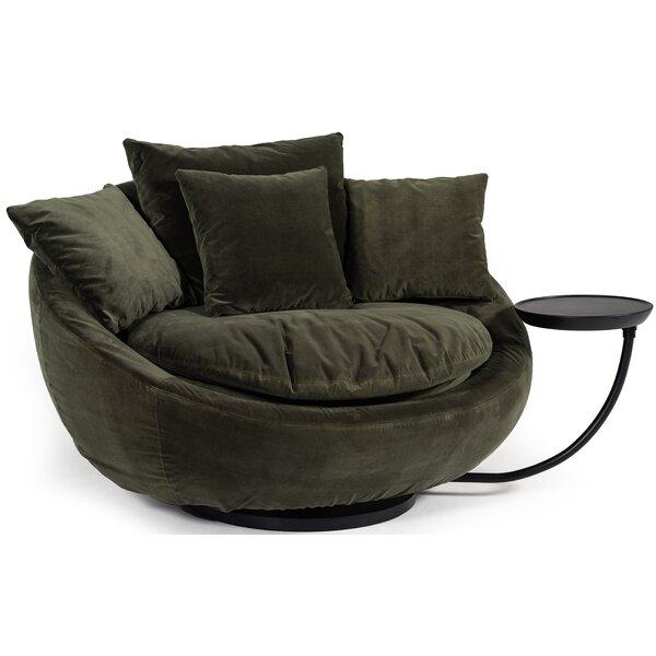 Awe Inspiring Joleen Modern Round Swivel Lounge Chair Onthecornerstone Fun Painted Chair Ideas Images Onthecornerstoneorg