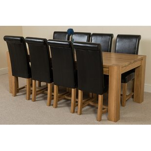 Stainbrook Chunky Kitchen Dining Set With 6 Chairs By Rosalind Wheeler