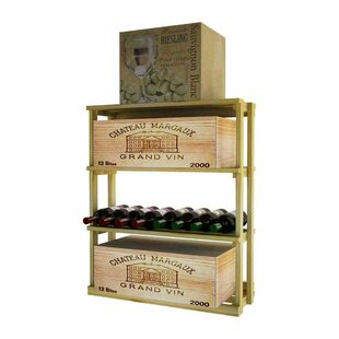 Wine Cellar Innovations Country Bin 69 Bottle Floor Wine Rack