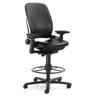 Steelcase Leap® High-Back Leather Drafting Chair