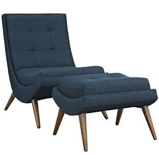Reviews Ramp Lounge Chair and Ottoman by Modway