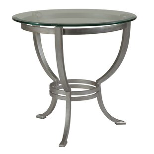 Metal Designs End Table by Artistica Home