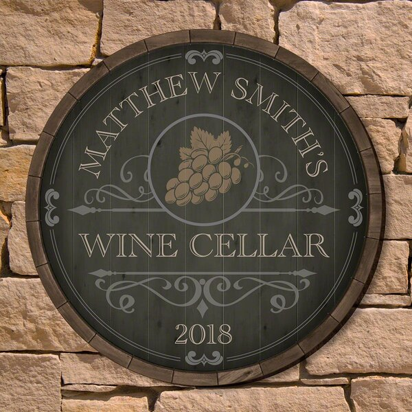 Wine Cellar Sign | Wayfair