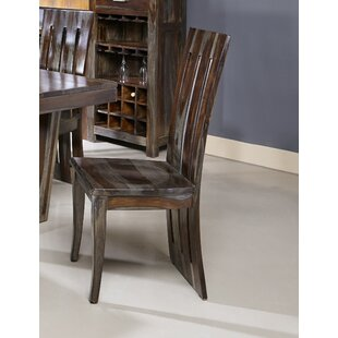 Costas Solid Wood Dining Chair (Set of 2)