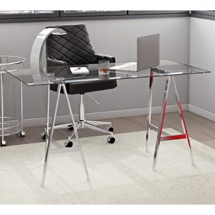 Ikon Ackler Glass Writing Desk