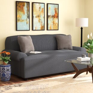 Affordable Box Cushion Sofa Slipcover by Red Barrel Studio Reviews (2019) & Buyer's Guide