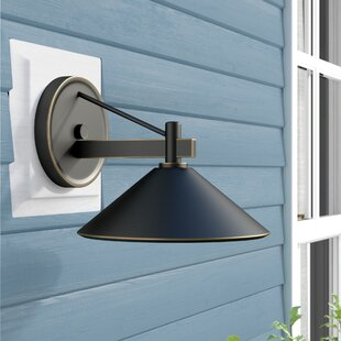 Bush 1-Light Outdoor Sconce by Longshore Tides