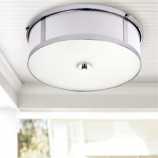 Darby Home Co Atchley 2-Light Flush Mount