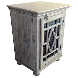 Cullens Single Door Accent Cabinet by Fleur De Lis Living