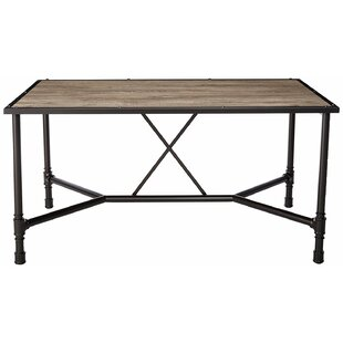 17 Stories Croll Industrial Dining Table