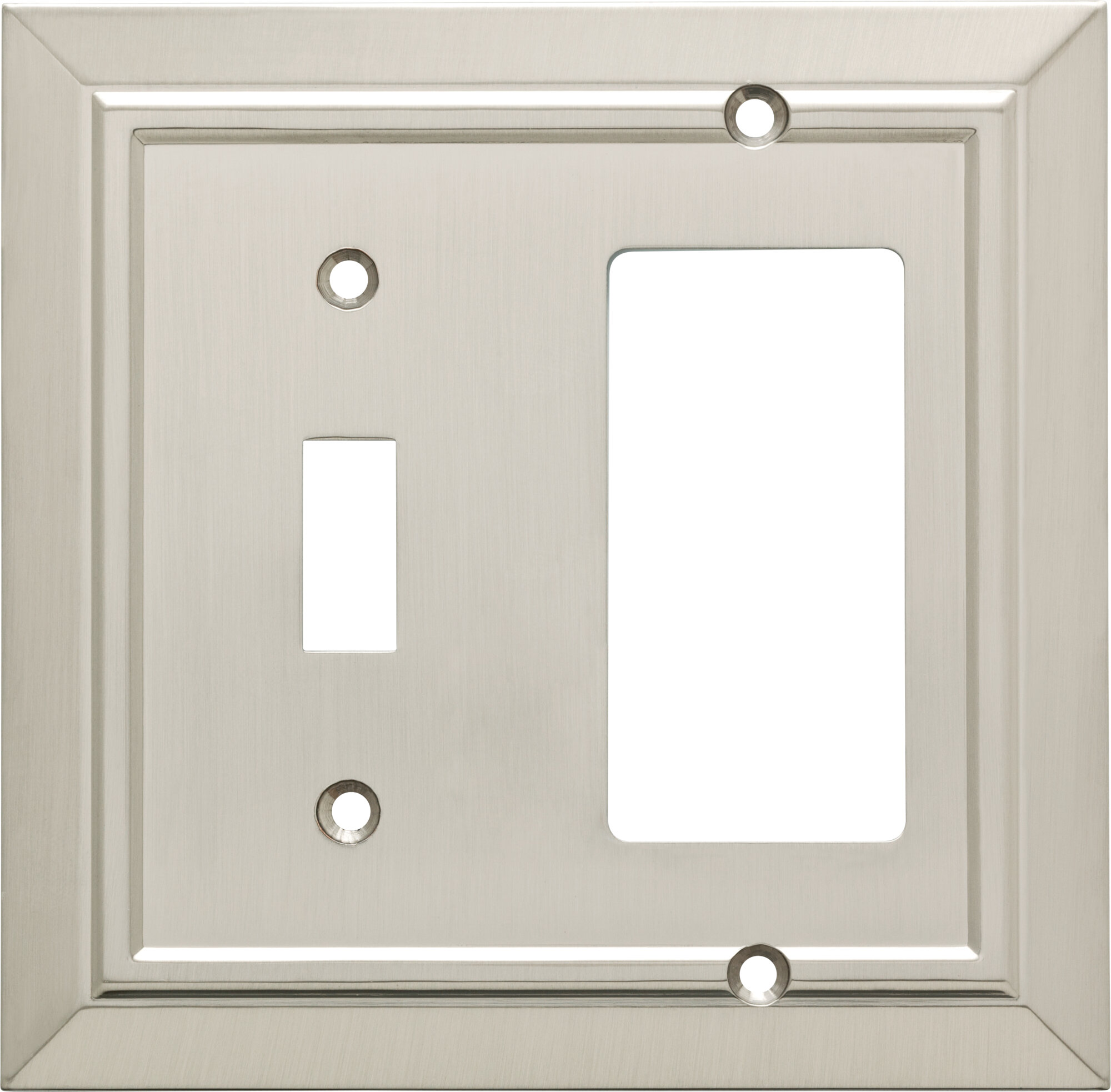 Franklin Brass Classic Architecture 2 Gang Toggle Light Switch Rocker Combination Wall Plate Reviews Wayfair