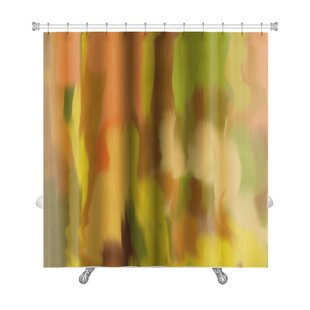 Art Beta Blur Abstract Style as Early Impressionism Premium Single Shower Curtain