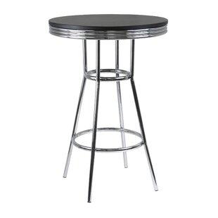 Clarksburg Modern Metal Pub Table by Red Barrel Studio