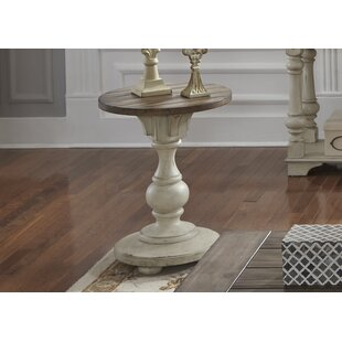 Wrightsville End Table by Rosecliff Heights