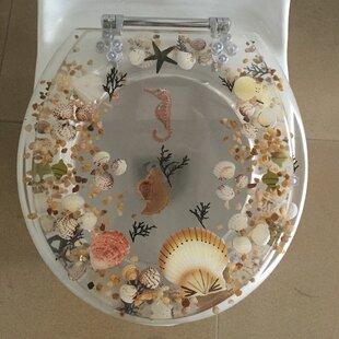 Sea Treasure Elongated Toilet Seat ByDaniels Bath