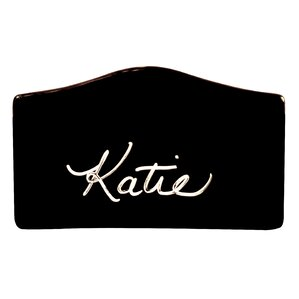 blackboard rectangular place card holder set of 6