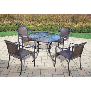 Rosecliff Heights Kingsmill Traditional 5 Piece Dining Set