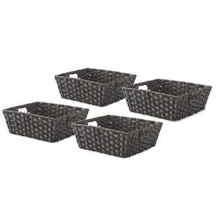 Find for Split Rattique™ Storage Tote (Set of 4) ByWhitmor, Inc