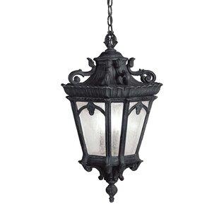 Compare Guzzi 3-Light Outdoor Hanging Lantern By Fleur De Lis Living