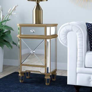 Marleigh Mirrored End Table by Willa Arlo Interiors