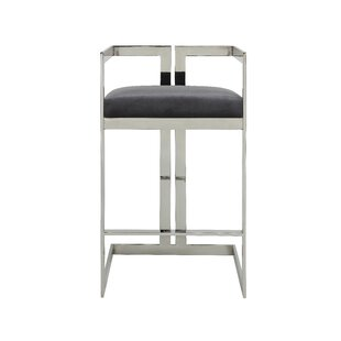 Kenzie 28 Bar Stool by Everly Quinn Amazing