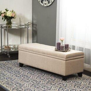 Buy clear Rose Storage Ottoman ByRed Barrel Studio