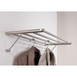 AGM Home Store Stainless Steel Wall Mounted Towel Rack