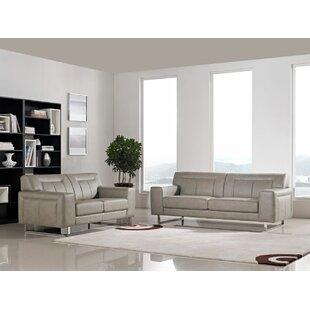 Best Price Vera 2 Piece Living Room Set by Diamond Sofa Reviews (2019) & Buyer's Guide