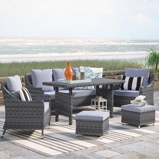 Arcellinna 6 Piece Lounge Dining with Cushions