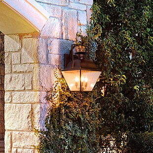 Find Oakgrove 1-Light Outdoor Wall Lantern By Darby Home Co