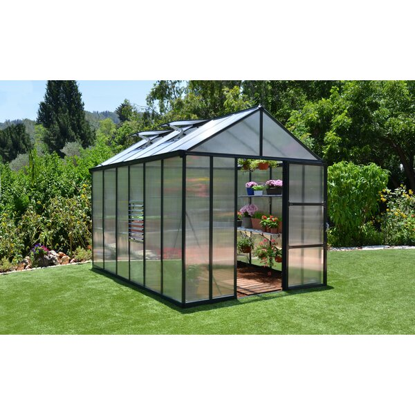 Palram Glory 8 Ft. W x 12 Ft. D Greenhouse & Reviews | Wayfair on unique greenhouse designs, greenhouse landscaping, chicken greenhouse designs, greenhouse door designs, greenhouse interior designs, greenhouse potting shed designs, greenhouse pool designs, greenhouse business plan, inside greenhouse designs, home greenhouse designs, greenhouse planting, greenhouse tips, greenhouse green garden pavilion, greenhouse design plans, greenhouse nursery designs, hoop house greenhouse designs, greenhouse farm designs, greenhouse conservatory designs, best greenhouse designs, modern greenhouse designs,