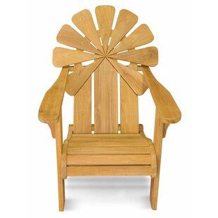 Veun Petals Teak Adirondack Chair